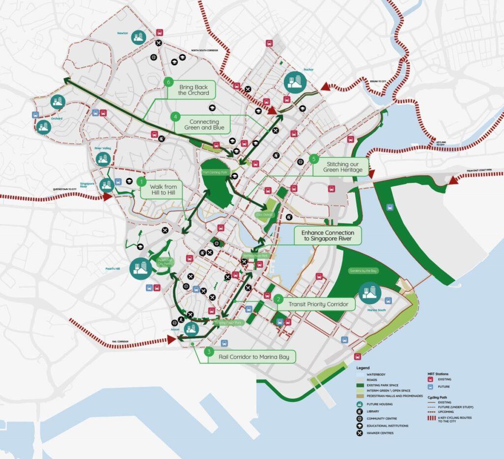 Irwell Hill Residences - Central Region URA Master Plan