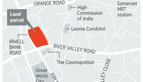 Irwell Hill Residences - Location Map